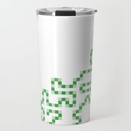 R Experiment 7 (Xmas snake tree) Travel Mug
