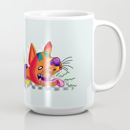 Burping kitty cat Coffee Mug