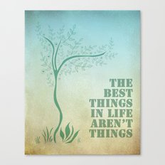 Best things. Canvas Print