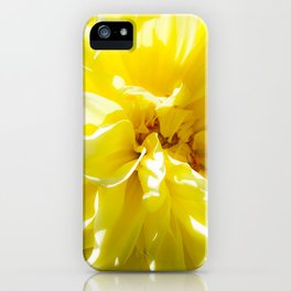 yellowSea iPhone Case