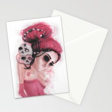 Red Coloured Dreams Stationery Cards