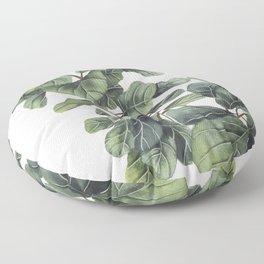 Fiddle Leaf Fig Floor Pillow