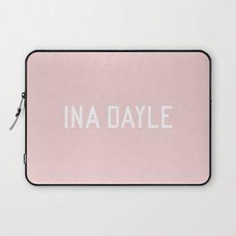 INA DAYLE - blush tones Laptop Sleeve