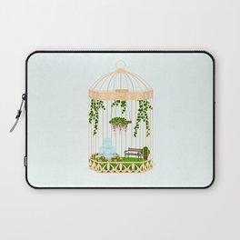 bird cage garden Laptop Sleeve