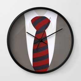 Suit and Tie Wall Clock