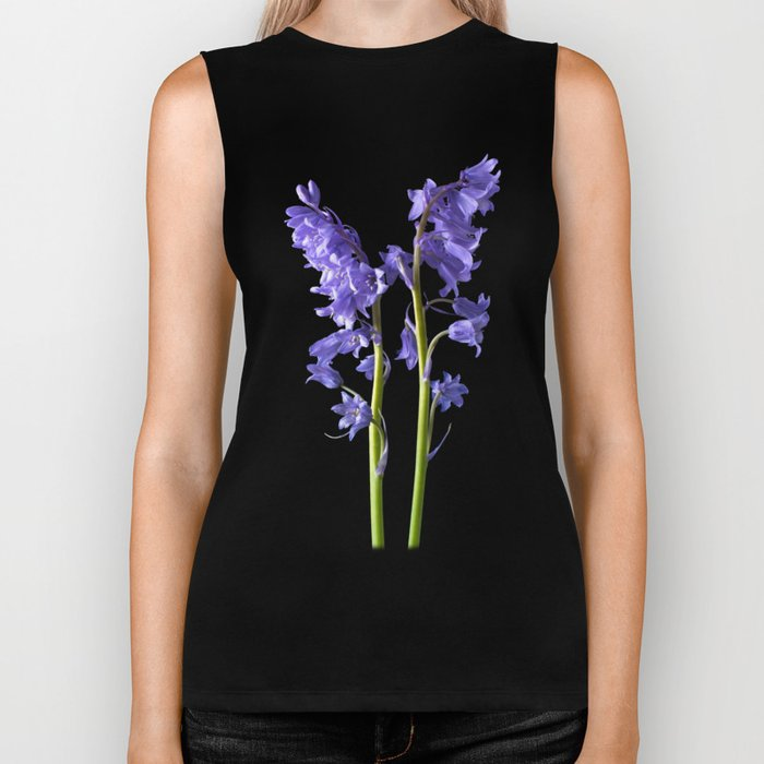 Bluebells, From the very Woods I Created! Biker Tank