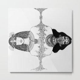 THE EGYPTIAN Metal Print