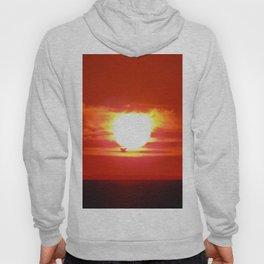 Heart Shaped Sunset Hoody