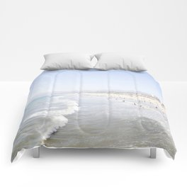 Santa Monica Beach Comforters