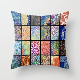 selected Details Throw Pillow