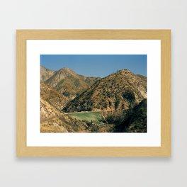Angeles Forest Framed Art Print