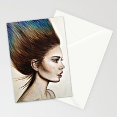 Ombre Hair (Mirror) Stationery Cards