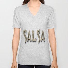 Salsa Barberian Ancient Unisex V-Neck