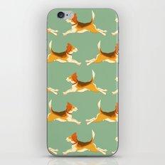 Beagle Pattern iPhone Skin