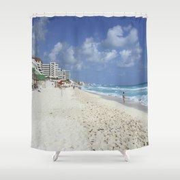 Carribean sea 7 Shower Curtain
