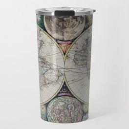 Atlas Maritimus - Vintage World Map Travel Mug