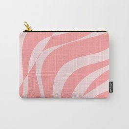 Red Fracture Pattern Carry-All Pouch