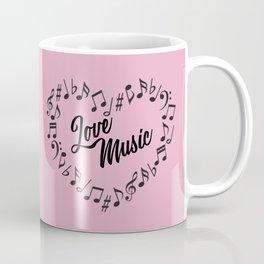 Love Music Coffee Mug