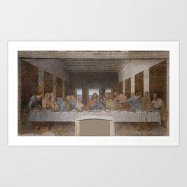 "Leonardo da Vinci ""The Last Supper"" Art Print"