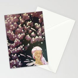 Plum Blossom Stationery Cards