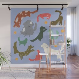 Puppy Playtime Wall Mural