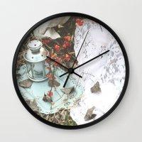 lanterns Wall Clocks featuring Lanterns by JennaMarie