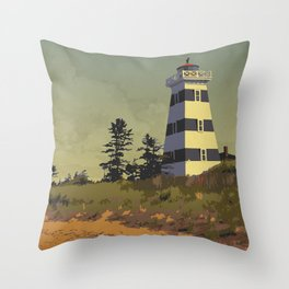 Cedar Dunes Provincial Park Throw Pillow