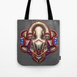 Summer Totem Red Tote Bag