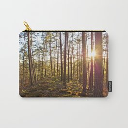 Evening in the forest Carry-All Pouch
