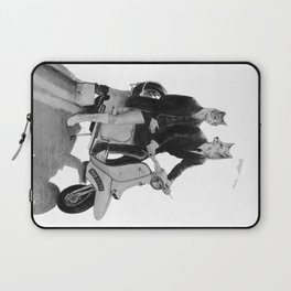 This is a Modern Life Laptop Sleeve