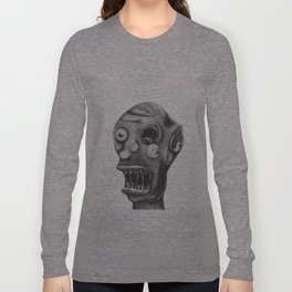 Gruesome Zombie Long Sleeve T-shirt