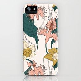 Orchid garden iPhone Case