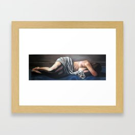 In Darkness You Can See No Light Framed Art Print