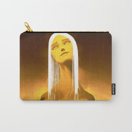 Luminescent Gold Carry-All Pouch