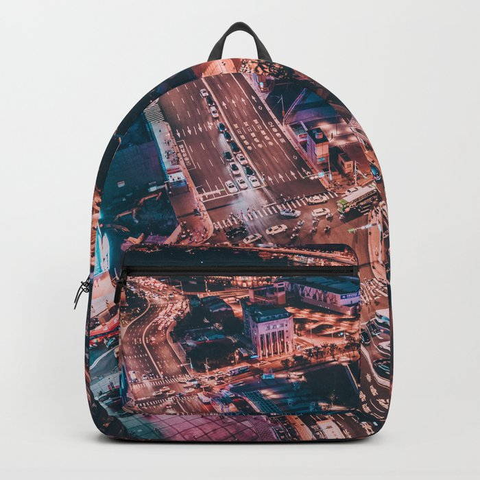City night lights Backpack