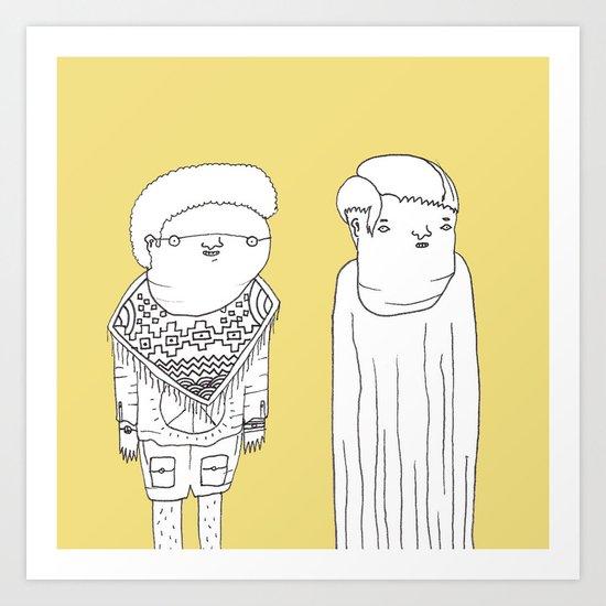 Characters 6 - Jebba Art Print