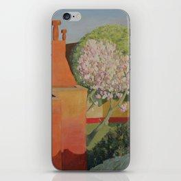 Vue depuis la chambre, magnolia iPhone Skin