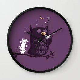 Coffee-Holic Wall Clock