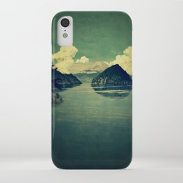 Distant Blues iPhone Case