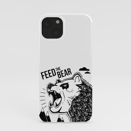 Bears and Mountains iPhone Case