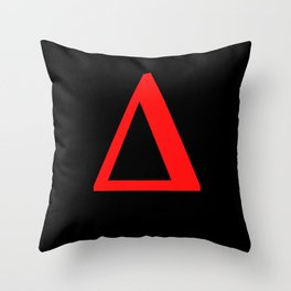 Delta  Δ Throw Pillow