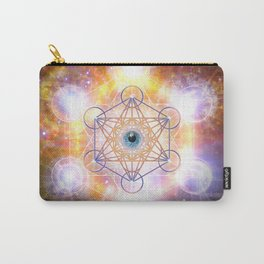 """""""Aad Guray Nameh""""- Merkaba-  Protective energy of the Universe Carry-All Pouch"""
