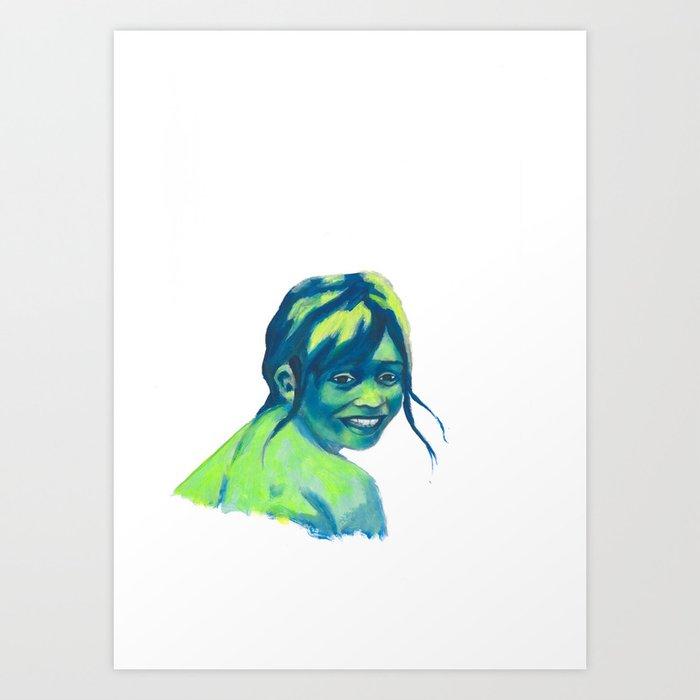 Les attentes 12 Art Print