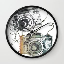 forever film Wall Clock