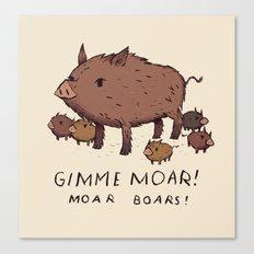 moar boars Canvas Print