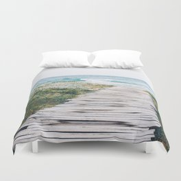 Path to my Heart Duvet Cover