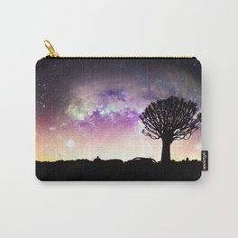 African galaxy skyline Carry-All Pouch