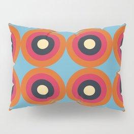 Lanai 16 - Colorful Classic Abstract Minimal Retro 70s Style Graphic Design Pillow Sham