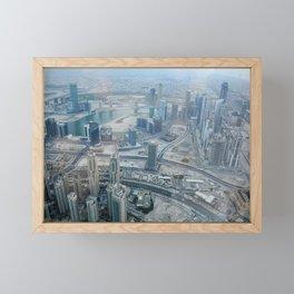 Dubai 76 Framed Mini Art Print