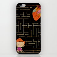 labyrinth iPhone & iPod Skins featuring labyrinth by Christina Tsevis